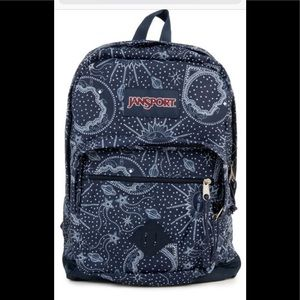 NWT Jansport City Scout Backpack in Star Map